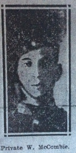 William McCombie, Yorkshire Herald, June 1915
